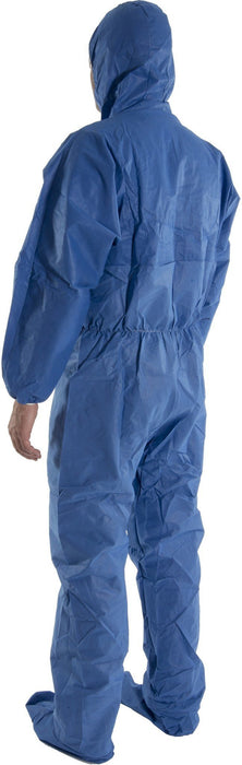 Majestic 74-203F FR Flame Resistant SMS Coverall Attached Hood/Boots (CASE): Global Construction Supply
