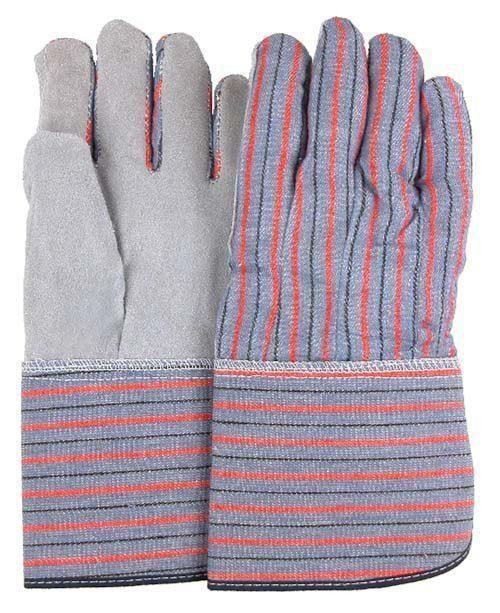 Majestic Glove 1521 Knit Wrist Leather Palm Thermal Poly Lined Size XL 1 Pair