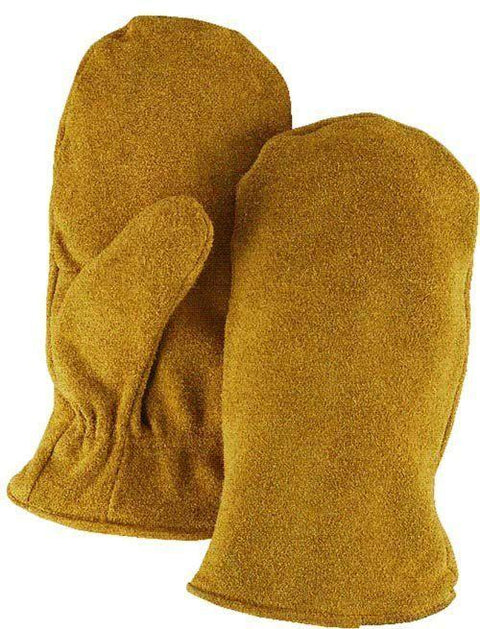 Majestic 1635 Split Cowhide Leather Freezer Mitten Pile Lined (DOZEN) - Global Construction Supply