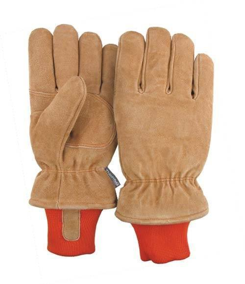 Majestic 1640 Split Cowhide Leather Freezer Glove Thinsulate Lined Knit Wrist (DOZEN) - Global Construction Supply