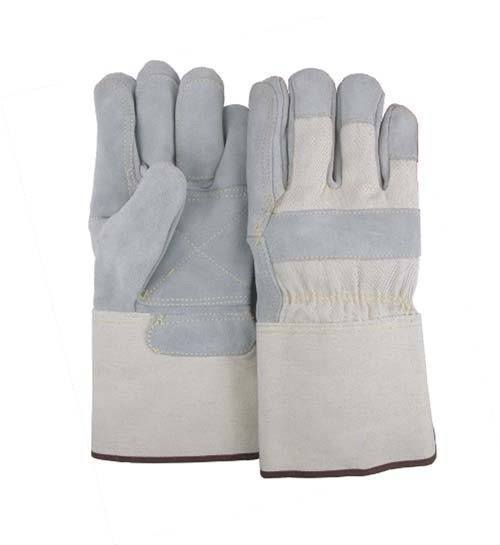 Majestic 1801DP Cowhide Leather Work Gloves Double Palm Kevlar Sewn Gauntlet (DOZEN) - Global Construction Supply