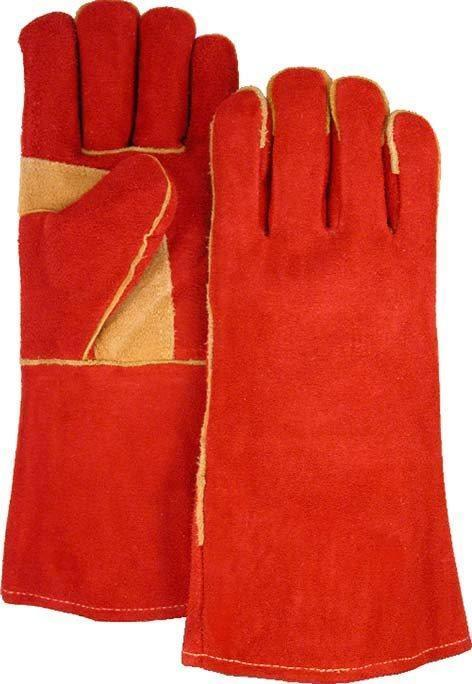 Majestic 2514AS Shoulder Split Cowhide Leather Welders Glove Rust (DOZEN) - Global Construction Supply