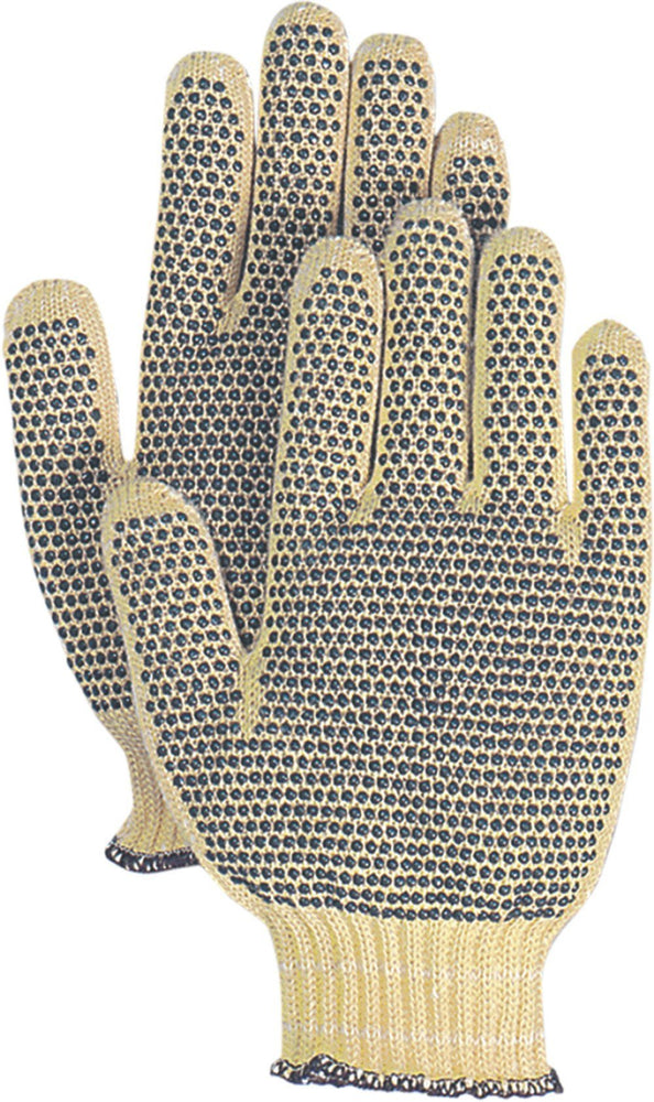 Majestic 3110P Cut Resistant Gloves Kevlar Cotton Plated Knit (DOZEN) - Global Construction Supply