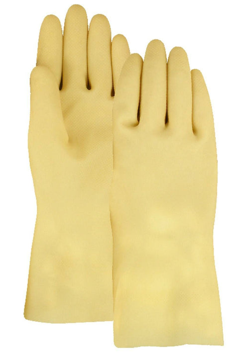 Majestic 3300IF Canners glove 100% Latex 18 Mil Natural (DOZEN) - Global Construction Supply