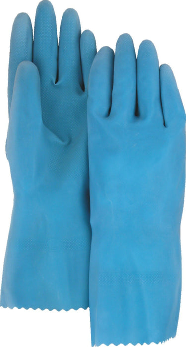 "Majestic 3352 19 Mil Blue Latex Canners Gloves Unlined 13"" (DOZEN) - Global Construction Supply"
