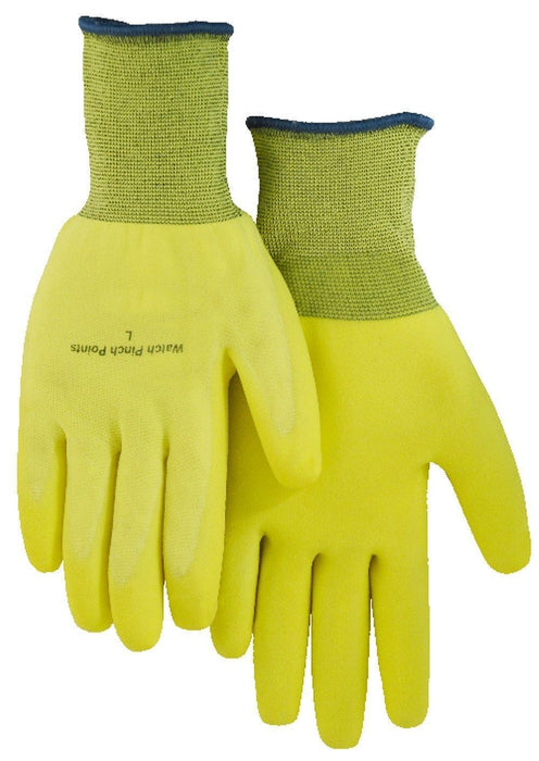 Majestic 3368HY Hi Vis Yellow SuperDex Light Wt 13-gauge Palm Dipped Gloves (DOZEN) - Global Construction Supply