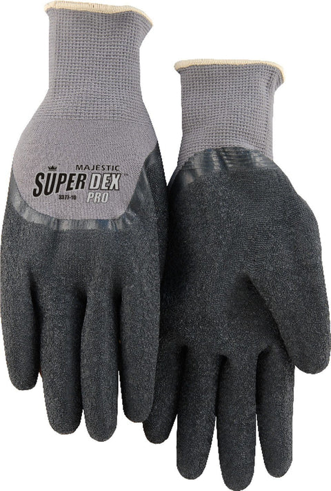 Majestic 3377 SuperDex Light Wt Nylon Liner Dipped Latex Palm Gloves (DOZEN) - Global Construction Supply