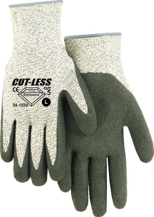 Majestic 34-1550 Cut Resistant Gloves Dyneema Latex Palm Cut 5 (DOZEN) - Global Construction Supply