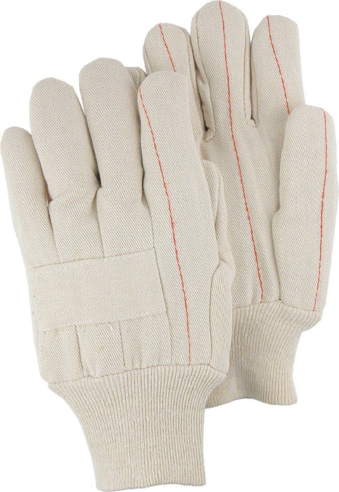 Majestic 3406 18oz Double Palm Quilted Cotton Gloves (DOZEN) - Global Construction Supply