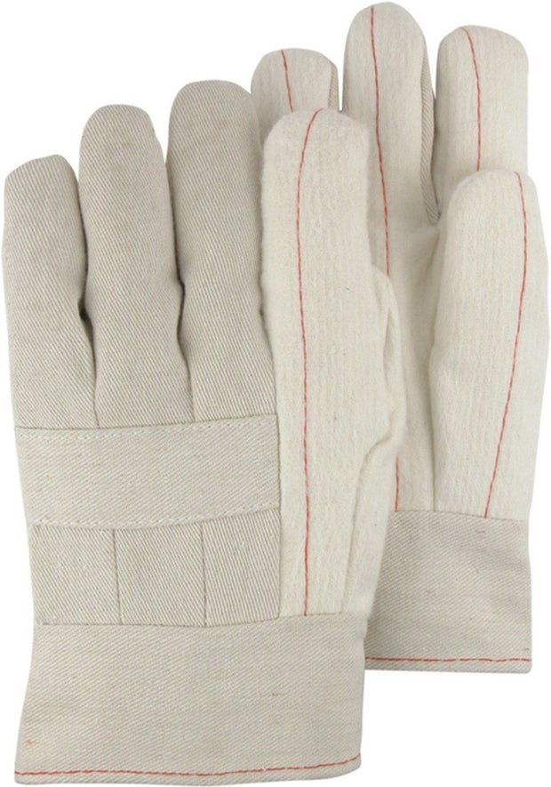 Majestic 3408 24oz Cotton Hot Mill Gloves Band Top (DOZEN) - Global Construction Supply