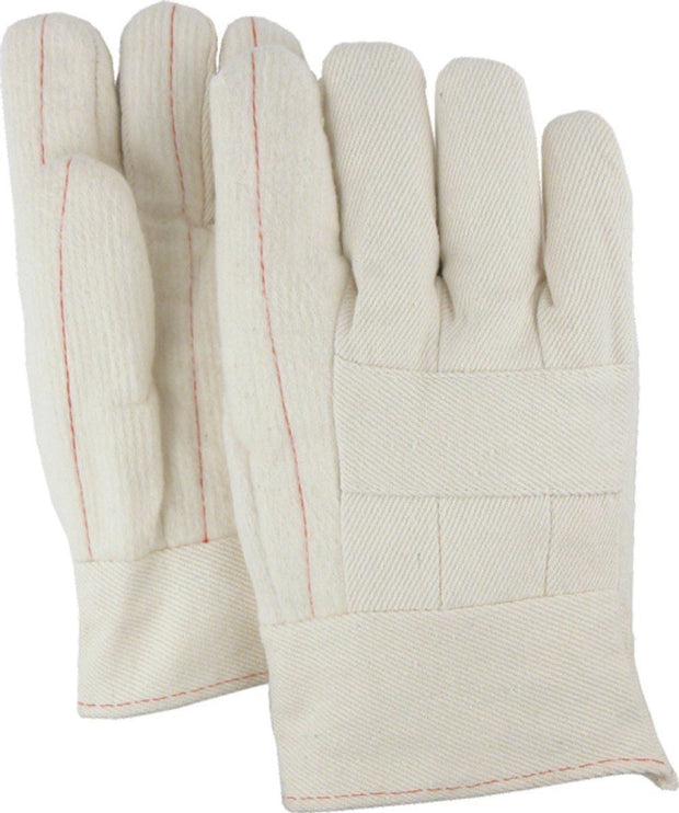 Majestic 3410 28oz Cotton Hot Mill Gloves Band Top (DOZEN) - Global Construction Supply