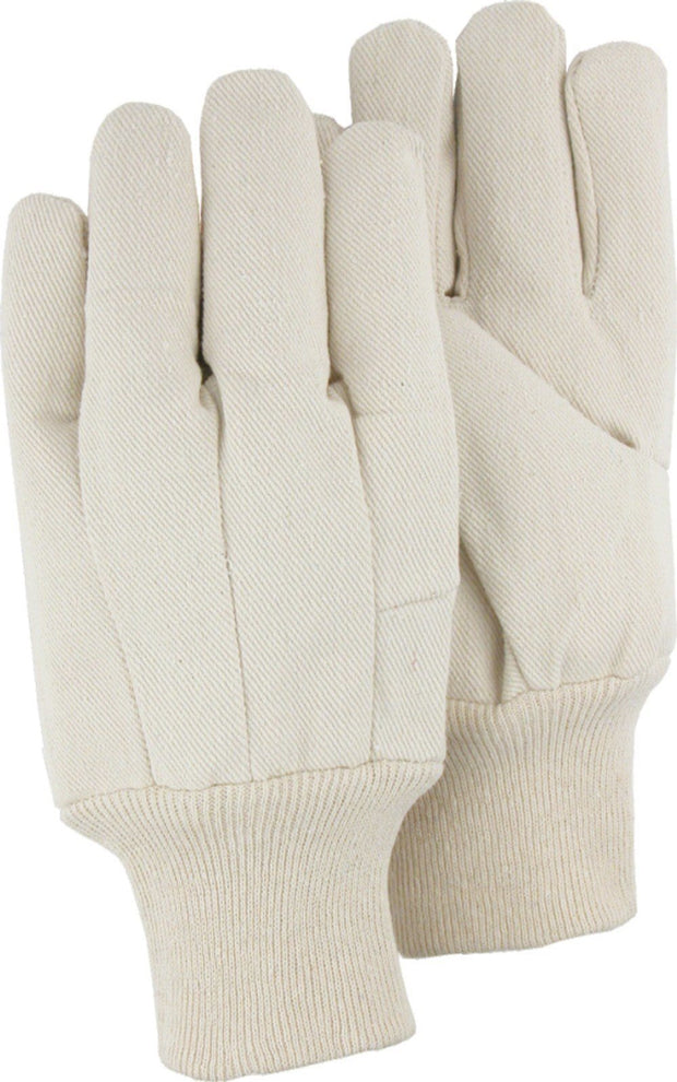 Majestic 3451 10oz Cotton Flannel Canvas Gloves (DOZEN): Global Construction Supply