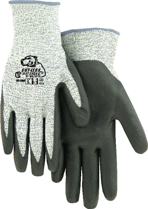 Majestic 35-1565 HPPE Cut-Less WatchDog Cut Resistant Gloves Foam Nitrile Palm Cut 5 (DOZEN): Global Construction Supply