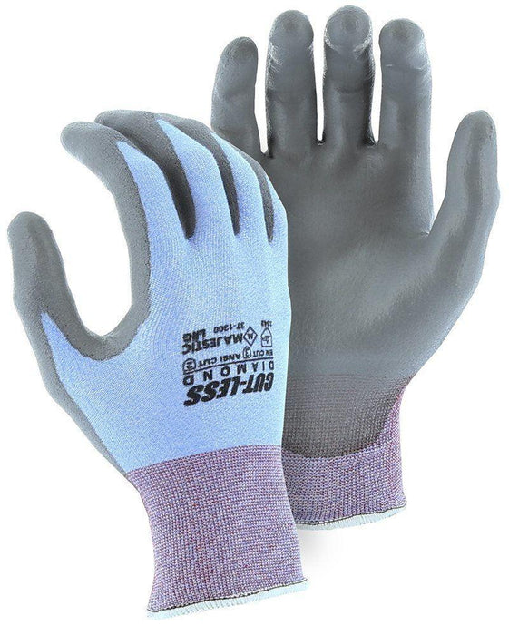 Majestic 37-1300 Cut Resistant Gloves Dyneema Diamond 18-gauge Polyurethane Palm (DOZEN): Global Construction Supply