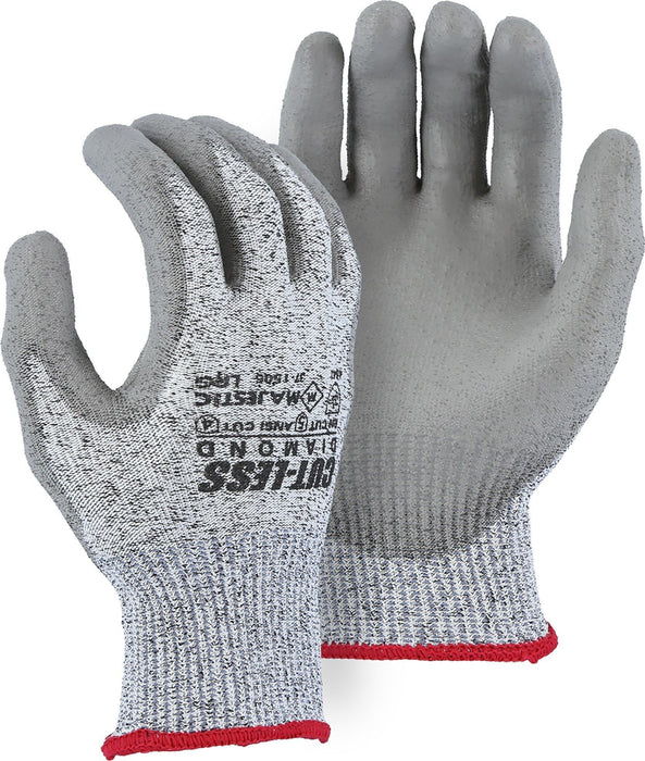 Majestic 37-1505 Cut Resistant Cut-Less Dyneema Diamond Gloves (DOZEN): Global Construction Supply