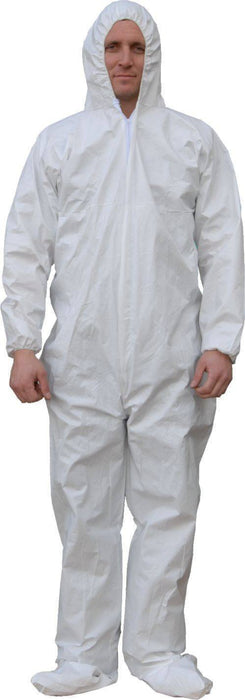 Majestic 74-103 ComforTEX Micro-Porous Coverall Elastic Wrist/Ankles Attached Hood/Boots (CASE): Global Construction Supply