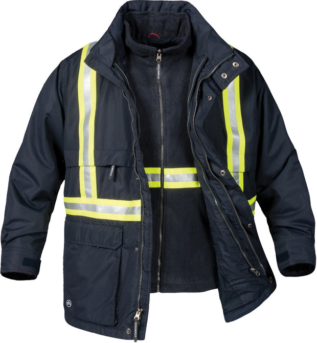 TPX-2R Stormtech Men's Explorer 3-IN-1 Reflective Jacket: Global Construction Supply