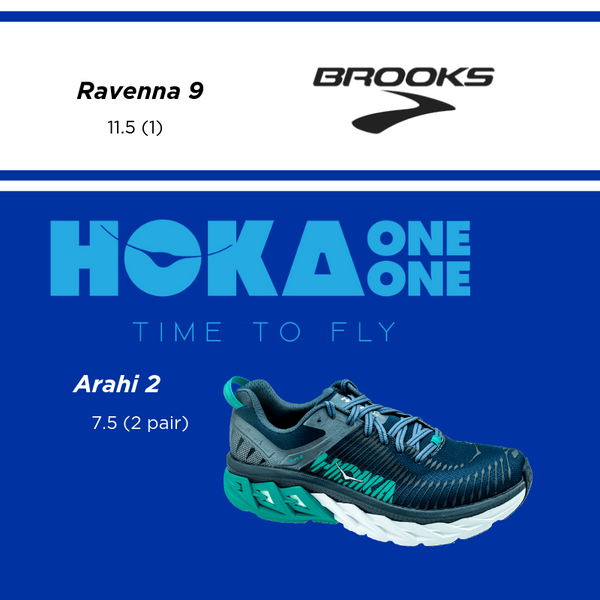 Fleet Feet Albany Clearance Shoes Hoka Arahi Brooks Ravenna Women