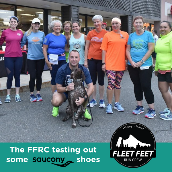 Fleet Feet Albany Malta Run Crew Club Saucony Shoes Demo