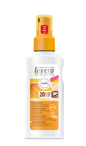 Lavera Organic Sun Spray SPF 20 125ml