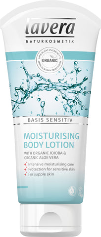 Lavera Moisturising Body Lotion (Basis Sensitive) For all skin types 200ml