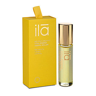 ILA Aroma Roller Vital Energy (Yellow) 10ml