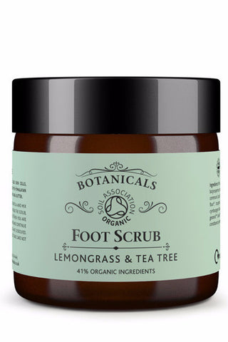 Botanicals Foot Scrub Lemongrass and Tea Tree 70g