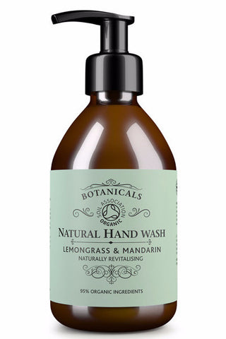 Botanicals Natural Hand Wash Lemongrass and Mandarin 200ml