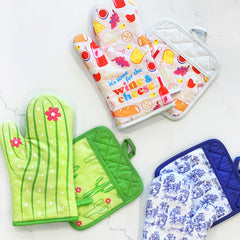 Oven Mitts And Potholders