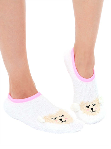 Fuzzy Lamb Slipper