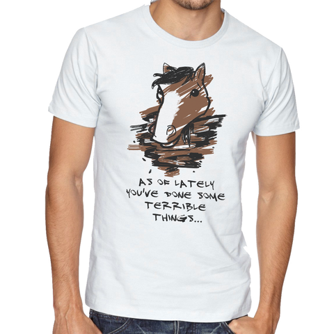 T shirt Terrible Horse