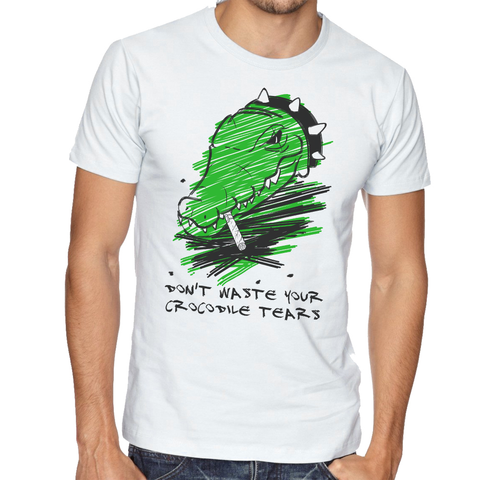 T shirt Croco Tears