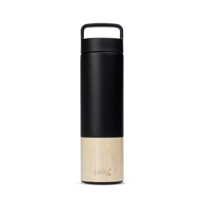 meet_tumbler=Black Adventure Bundle Tall black water bottle with bamboo base and loop cap