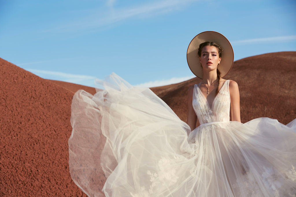 Shop Willowby by watters boho style wedding dresses at OffWhite Bride