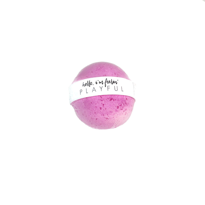 Honey Belle - Bath Bomb Playful | Organic Coconut Oil, Cruelty Free