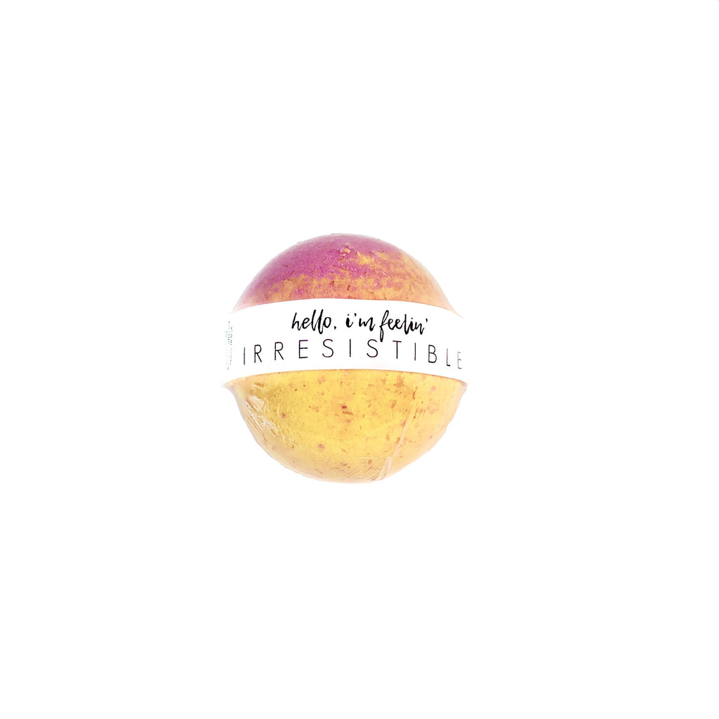 Honey Belle - Bath Bomb Irresistible | Organic Coconut Oil, Cruelty Free
