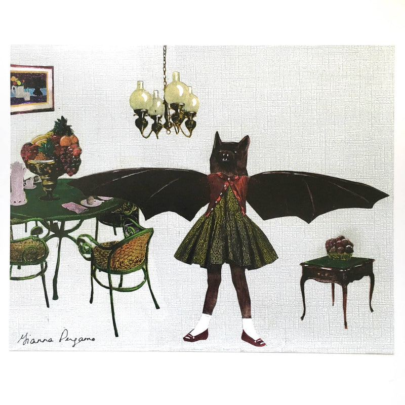 Pergamo Paper Goods - Bat Girl 8X10 Art Print
