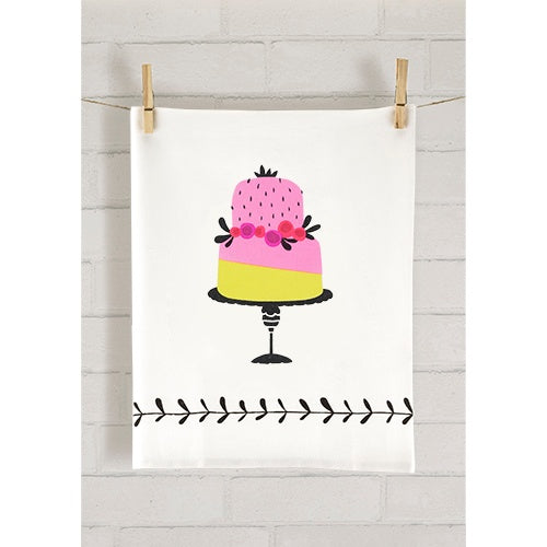 Piece of Cake Tea Towel