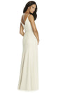 Social Bridesmaid by Dessy 8181 Floor Length Chiffon Bridesmaids Dress - Off White Bride