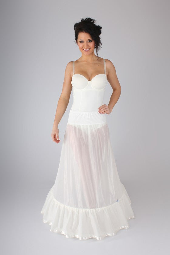 Simple Hoop Petticoat BR1 - Off White Bride