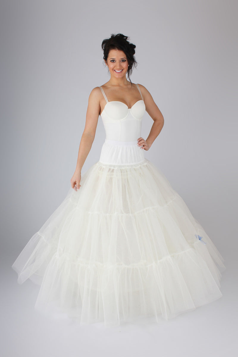 Extra Full Petticoat for Ball Gowns BR20 - Off White Bride