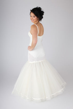 Blue Ribbon Petticoat Full Fit and Flare Slip BR8 - Off White Bride