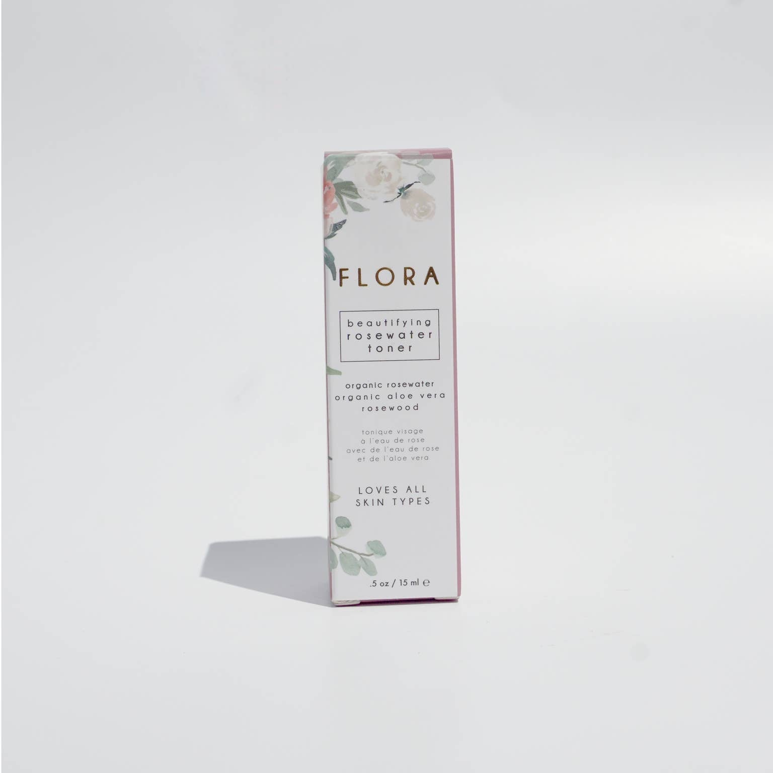 FLORA: Organic Rosewater Toner by Honey Belle