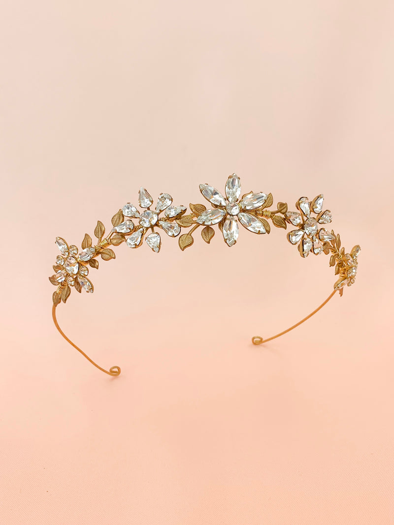 Across The Universe | handmade crystal hairpiece
