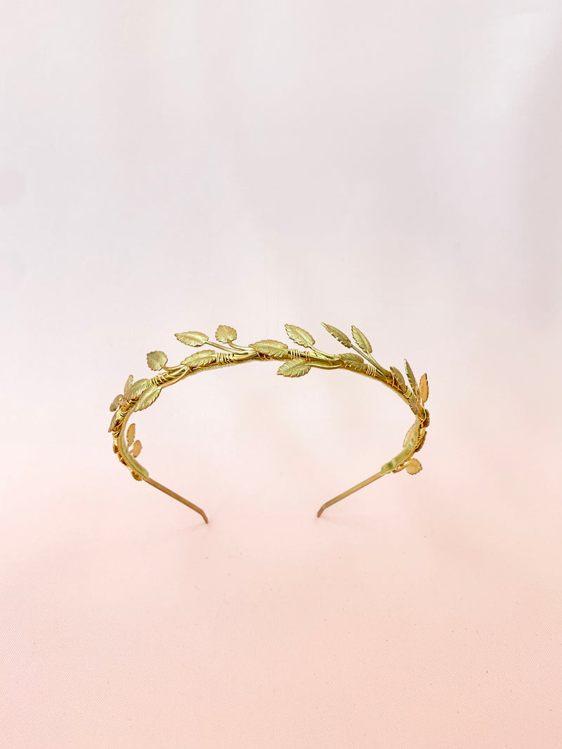 I'm a Beleafer | handmade gold headband