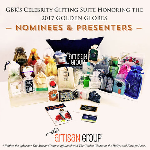 The Artisan Group Gift Bag for GBK Gifting Suite.