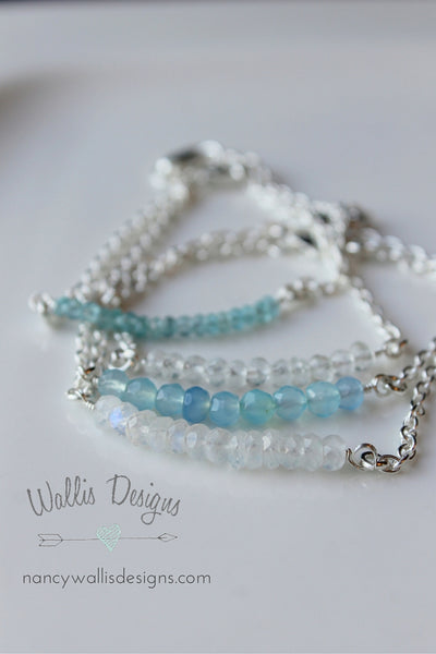 Gemmie Bracelet by Nancy Wallis Designs