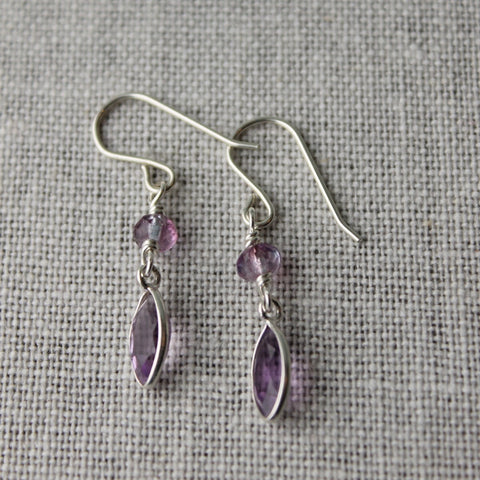 Guiding Light Amethyst Earrings