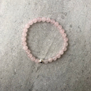 Love Always Rose Quartz Bracelet