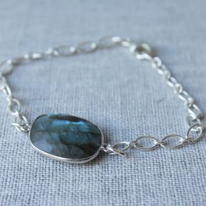 Labradorite Bracelet Made in Canada